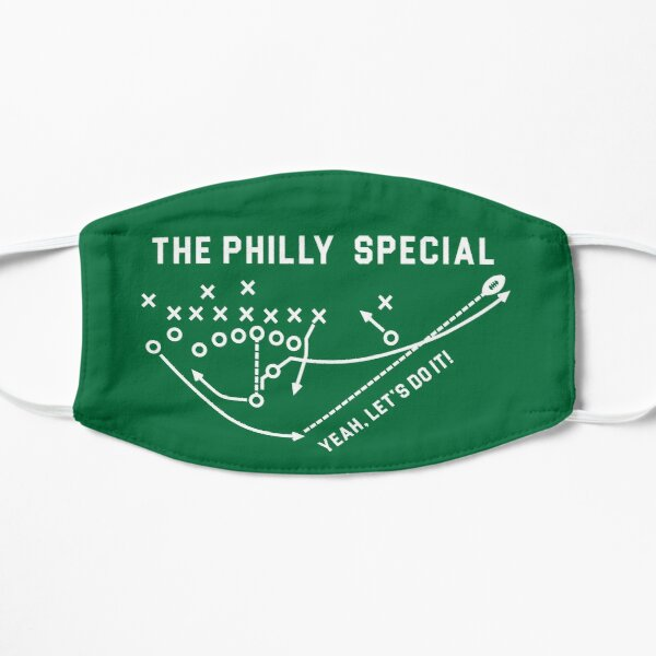 The Philly Special Flat Mask