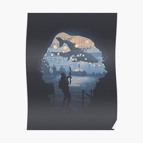 Le dernier d'entre nous 2 - Owen's Aquarium Poster