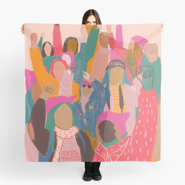Women's March Poster Scarf