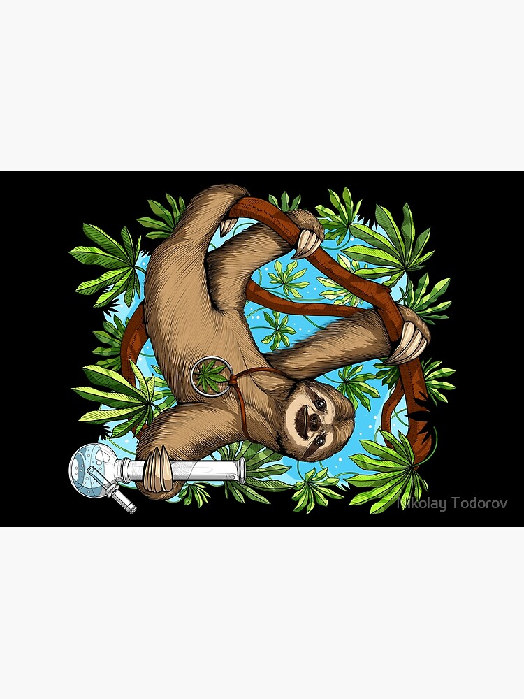 Sloth Weed Stoner by underheaven