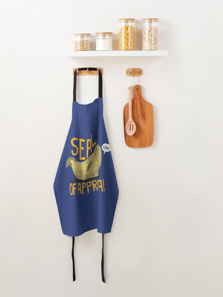 Alternate view of Seal of Approval Apron