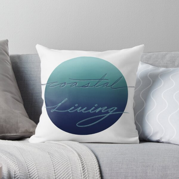 Coastal Living Throw Pillow