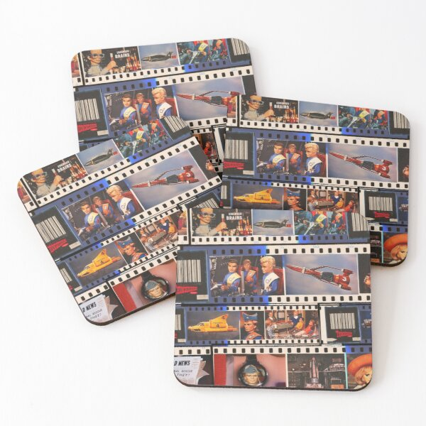 to hold a briefing. It consists of Lady Penelope Coasters (Set of 4)