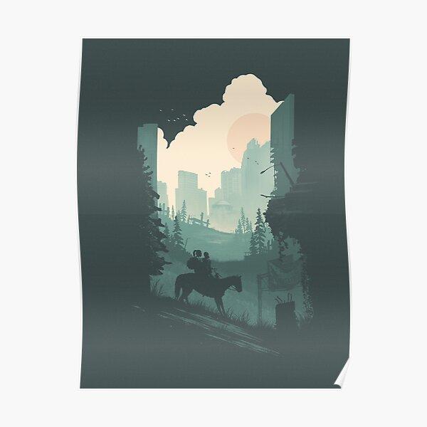 The Last of Us 2 - Ellie & Dina Roaming Póster