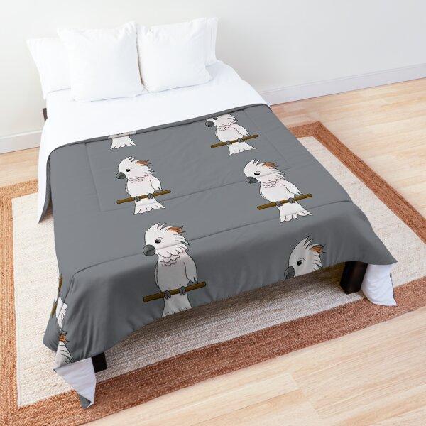 Moluccan Cockatoo Comforter
