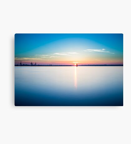 Sunset in Dublin  Canvas Print