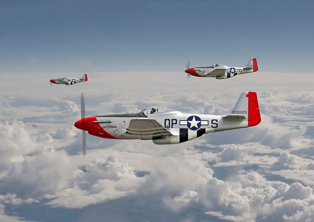 Quot P51 Mustang 334th Fighting Eagles Quot By Pat Speirs