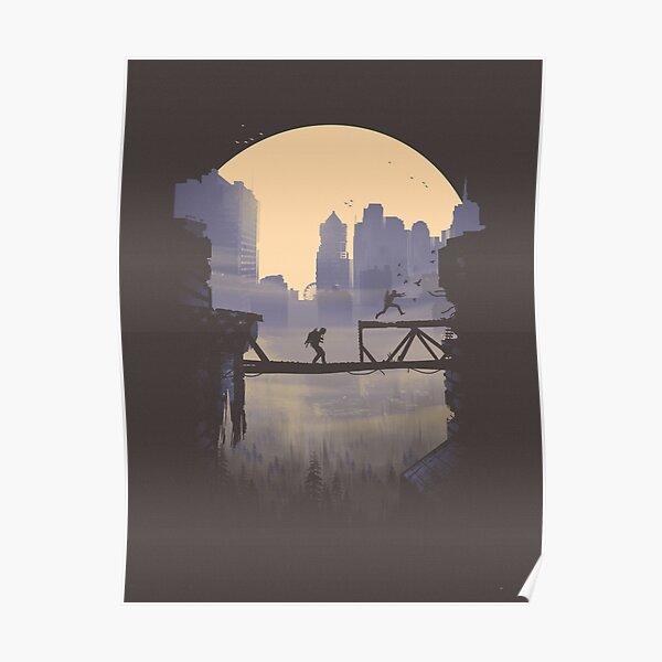 The Last of Us 2 - Abby y Lev en movimiento. Póster
