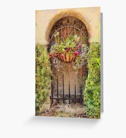 Charleston Mini Garden Greeting Card