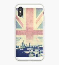 Sherlock London Union Jack iPhone Case