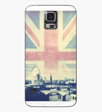Sherlock London Union Jack Case/Skin for Samsung Galaxy