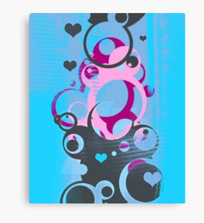 I love breathing Canvas Print