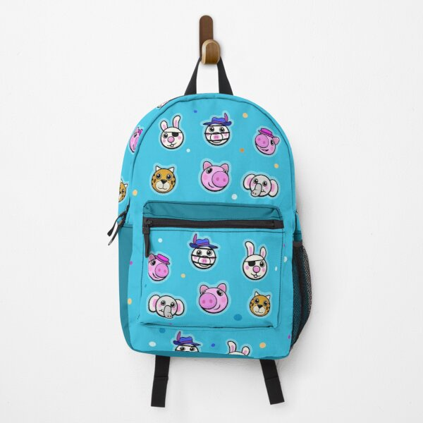 Piggy and friends - Blue Backpack