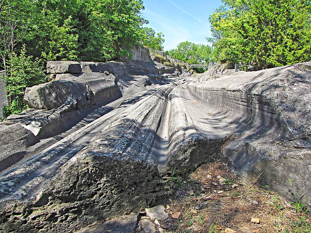 Glacial Grooves by Jack Ryan