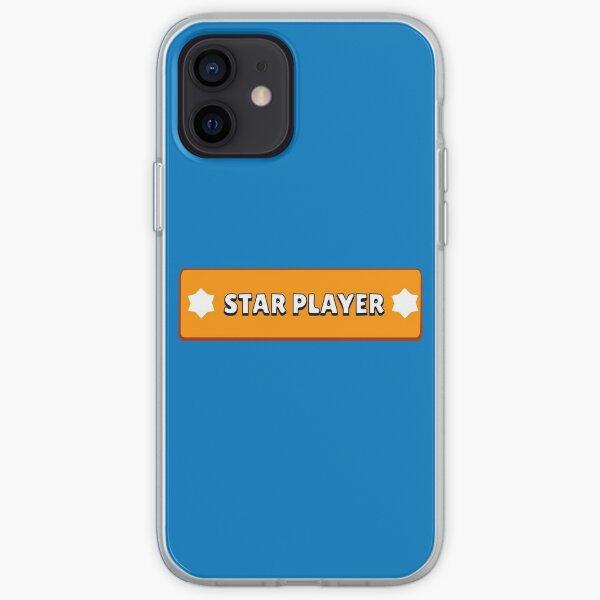 Joueur étoile de Brawl Star Coque souple iPhone