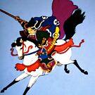 Samurai Tee by Shulie1