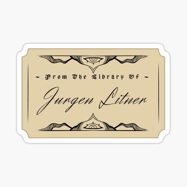 Jurgen Leitner Sticker