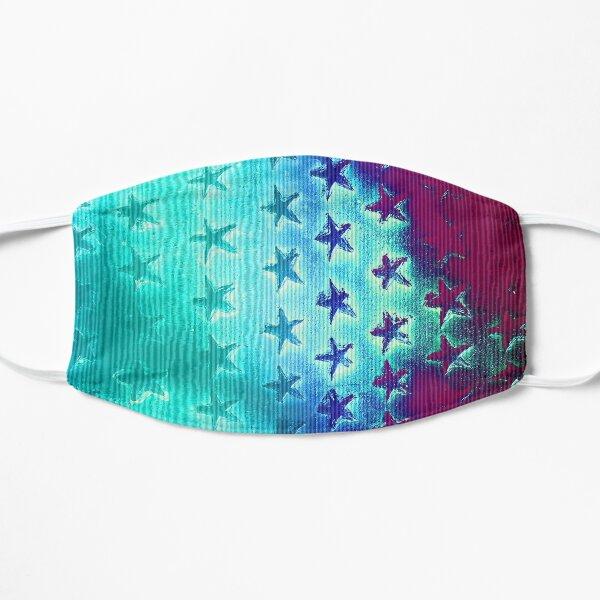 stars blue green purple Flat Mask