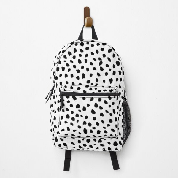 Aspyn Spots - Black and White Backpack