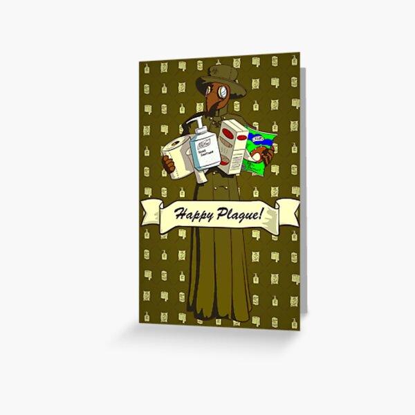 Happy Plague! Greeting Card