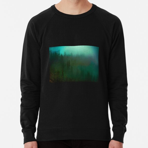 deep fog woods Lightweight Sweatshirt