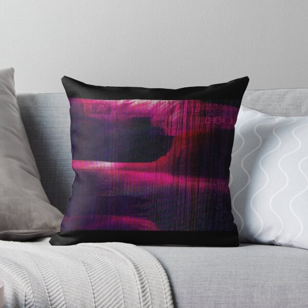 fold and flow Throw Pillow