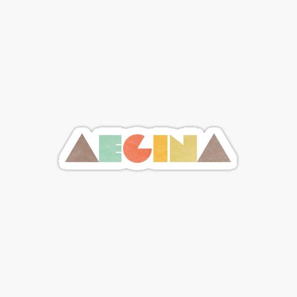 Aegina Vintage Sticker