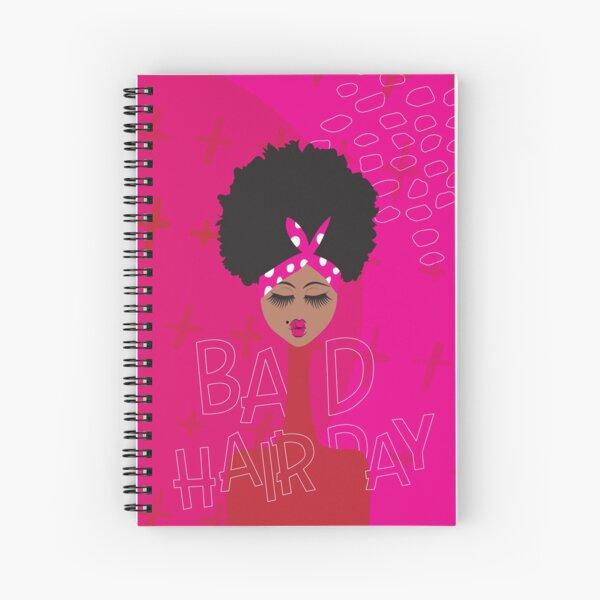 Bad Hair Day Spiral Notebook
