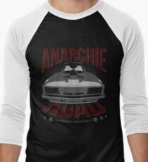 MAD MAX inpired Anarchie Road with Interceptor Design Men's Baseball ¾ T-Shirt