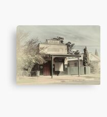 Webb Bros., Butchers ~ Marrar NSW Canvas Print