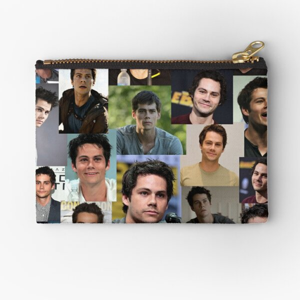 Collage de Dylan O'Brien Bolsos de mano