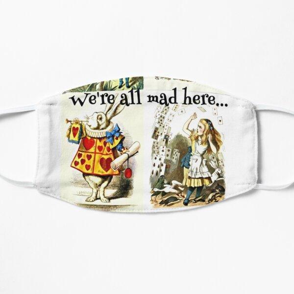 Alice In Wonderland Gift 'We're all mad here' Original Illustrations Mask