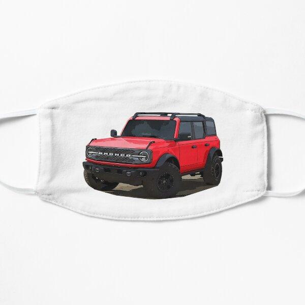2021 Ford Bronco 4 Door Race Red Flat Mask