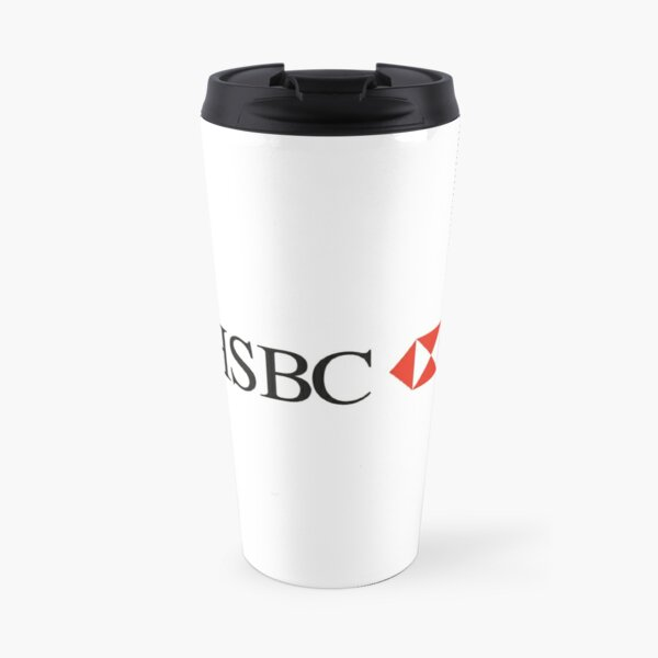 HSBC logo Travel Mug