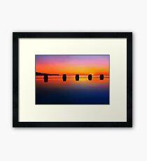 Coogee Sunrise Framed Print