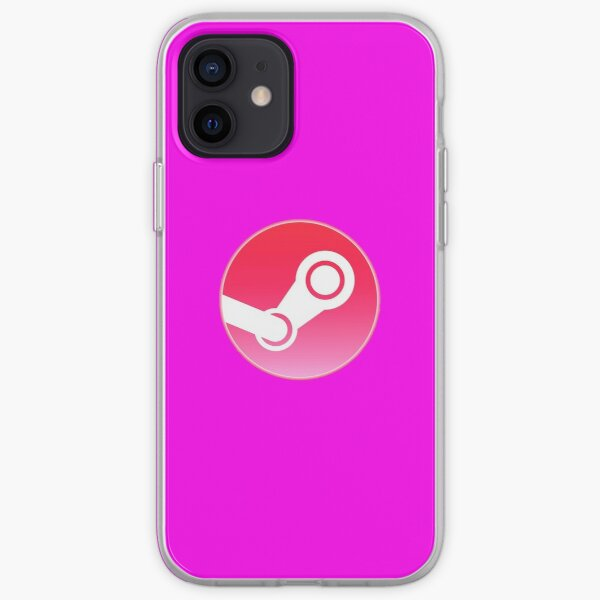 steam pink gaming iPhone Soft Case