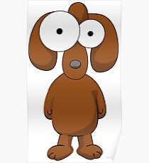 Cartoon Dog Poster