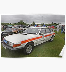 A Rover 3.500 Car, Ex Police vehicle Poster