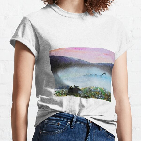 Scottie Dog spots Nessie Classic T-Shirt