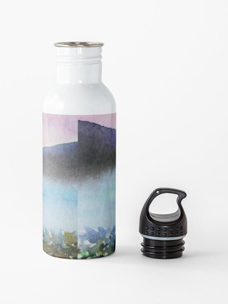 Alternate view of Scottie Dog spots Nessie Water Bottle