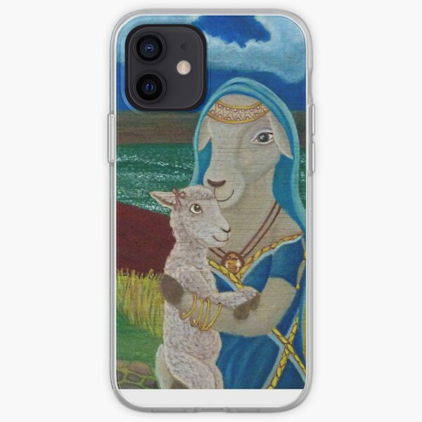 Mother Sheep : Motherhood. Gift of Unconditional Love. iPhone Soft Case