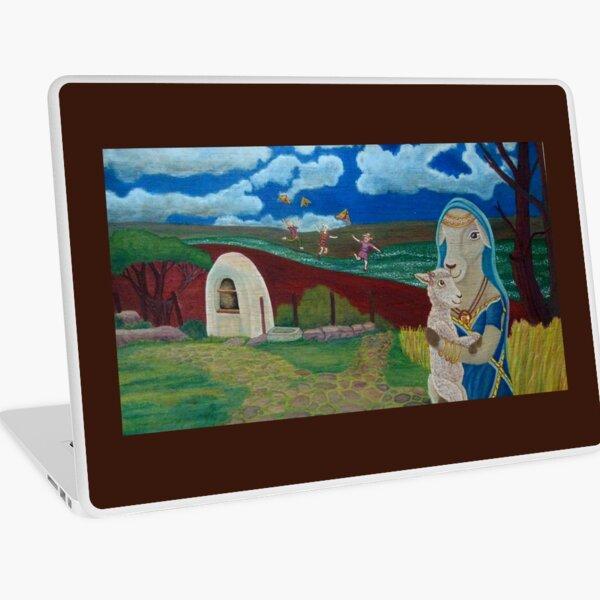 Mother Sheep : Motherhood. Gift of Unconditional Love. Laptop Skin