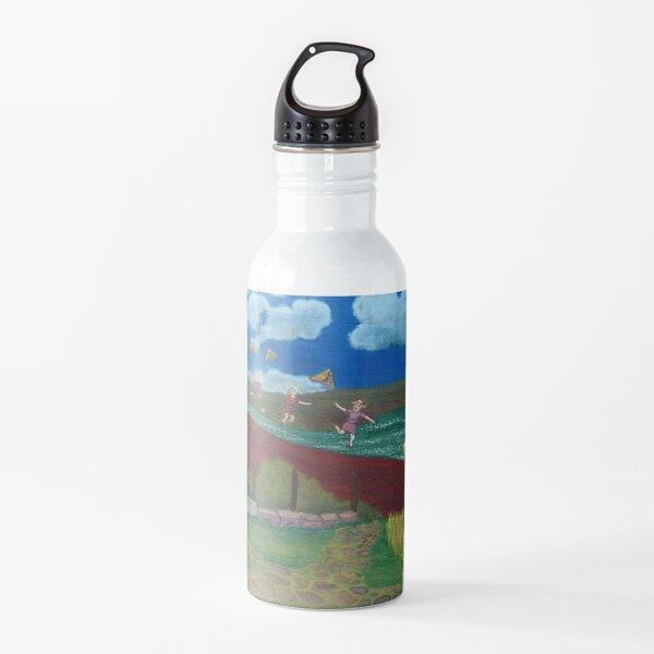 Mother Sheep : Motherhood. Gift of Unconditional Love. Water Bottle