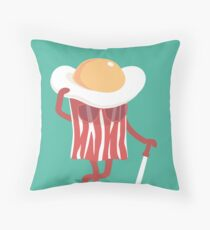 Meet the meat Throw Pillow