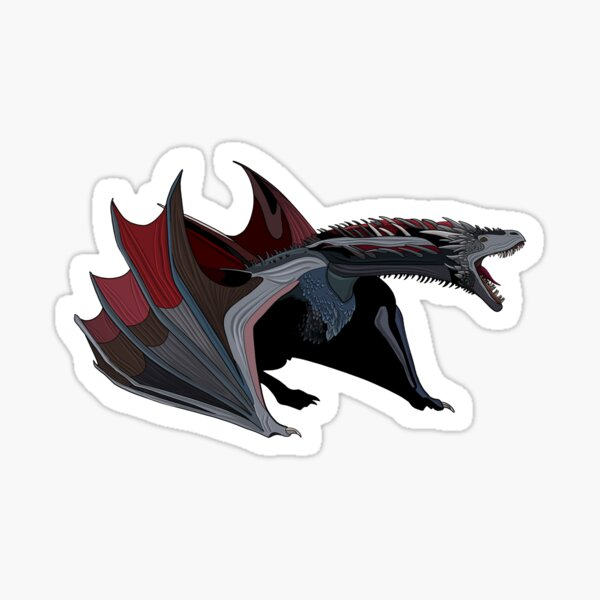 Drogon Sticker
