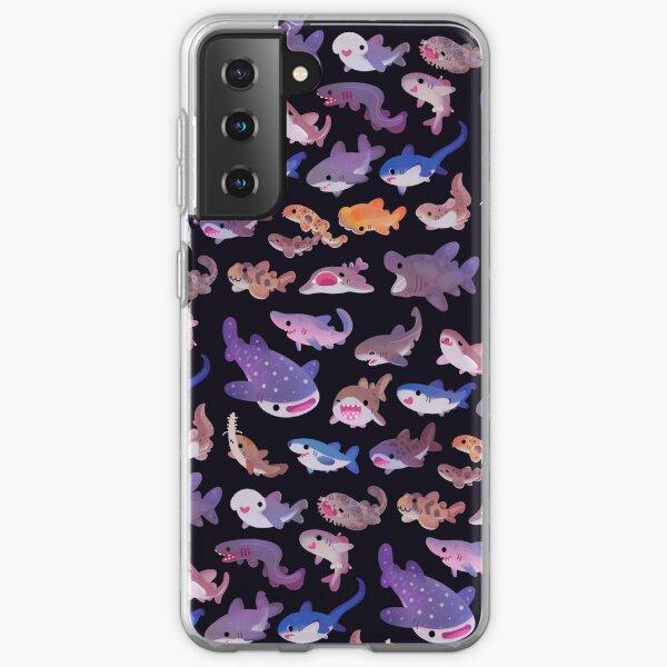 Sechskiemerhai mit stumpfer Nase Samsung Galaxy Flexible Hülle