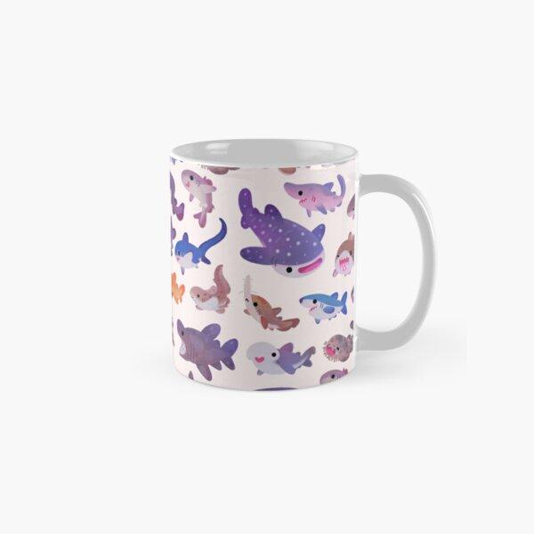 Shark day - pastel Classic Mug