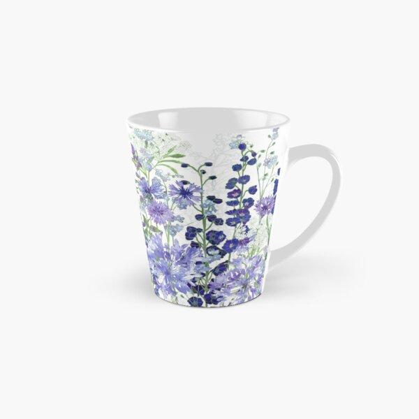 Blue Flower Garden - Agapanthus, Delphiniums, Cornflowers, Catmint, Forget-Me-Nots Tall Mug