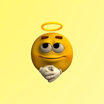 Angelic Emoticon by Vac1