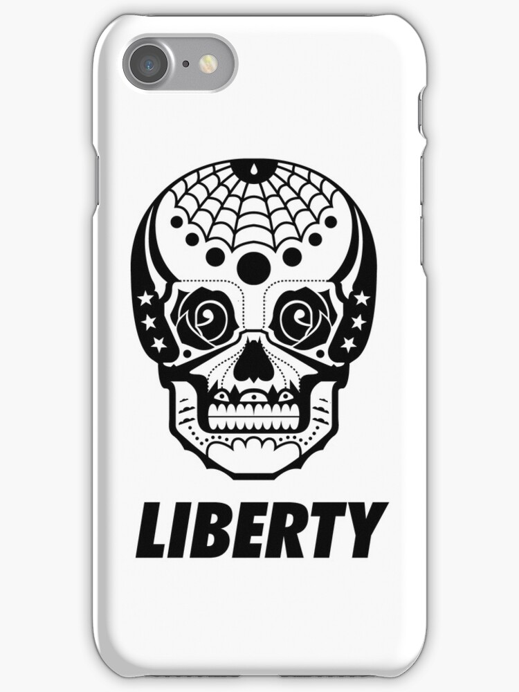 iPhone Case - Freedom Skull - Liberty by fenjay